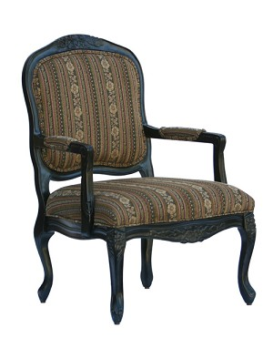 Essex Accent Chair with French Provincial Styling