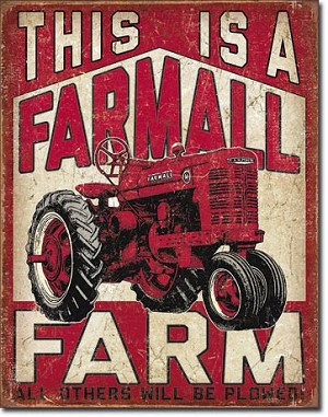 Farmall Farm Tin Sign