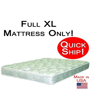Quick Ship! Full XL Size Abe Feller® Mattress Only GOOD