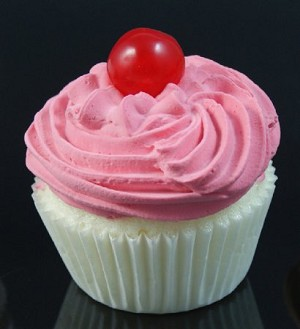 Fake Food Cupcake Strawberry