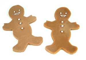 Fake Food Gingerbread Man (pack of 2)