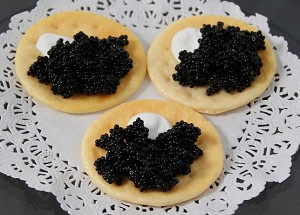 Fake Food Caviar Hors D'oeuvre (pack of 3)