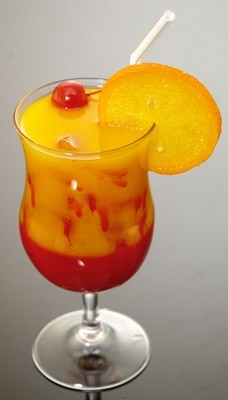 Fake Food Acrylic Tequila Sunrise