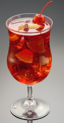 Fake Food Acrylic Sangria Glass
