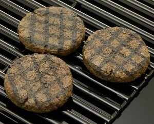 Fake Food Hamburger Patties Grilled - (pack of 3)