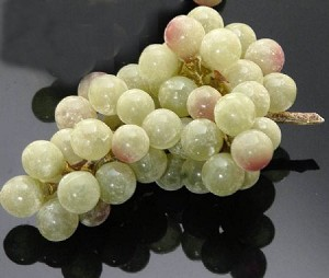 Fake Food Grapes Green - One Bunch