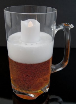 Fake Food Jumbo Beer Mug Light