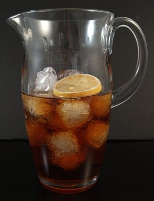 Fake Food Polycarbonate Ice Tea Pitcher