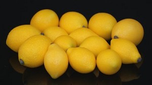 Fake Food Mini Lemons - 24 Pcs.