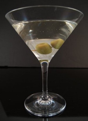 Fake Food Polycarbonate Olive Martini