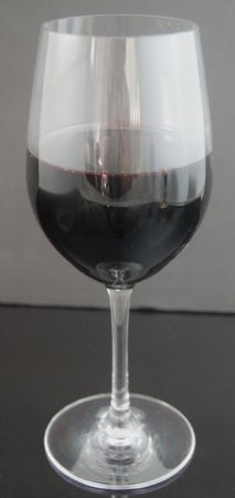 Fake Food Glass of Malbec Red Wine