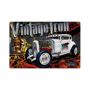 Rat Rod Vintage Iron Vintage Metal Sign
