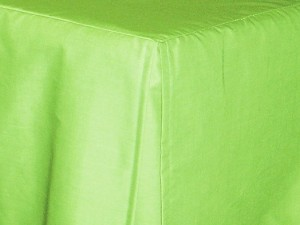3/4 Three Quarter Lime Green Tailored Dustruffle Bedskirt