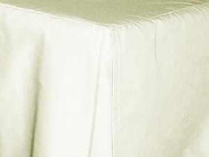 Antique Off White Tailored Dustruffle Bedskirt
