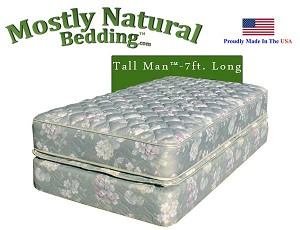 Tall Man™ Twin Size Abe Feller® BEST Mattress