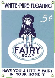 Fairy Soap Metal Sign