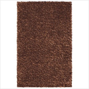 "Shag Rug Metal Flake Foxfire Copper Color, Size 8' x 10', Pile Height 2""!"