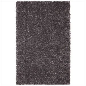"Shag Rug Metal Flake Foxfire Graphite Color, Size 8' x 10', Pile Height 2""!"