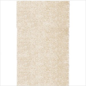 Shag Rug Metal Flake Foxfire Pearl Color, Size 5' x 8', Pile Height 2""