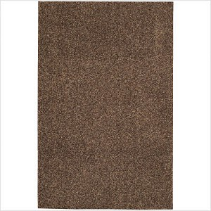 Shag Rug High Sierra Wood color, Size 8' x 10', Pile Height 2""