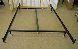 online store bb60f 08bf2 Bed Frame For Split Queen Box Spring or Split Queen Foundation