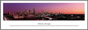 Atlanta, Georgia Skyline Picture 1