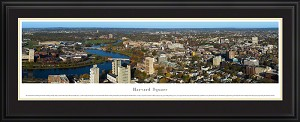 Harvard Square Deluxe Framed Skyline Picture