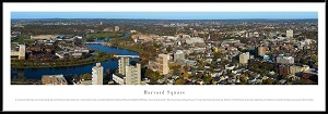 Harvard Square Framed Skyline Picture