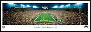 Green Bay Packers Framed Stadium Picture 2