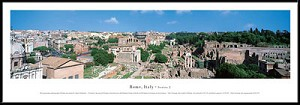 Rome, Italy Framed Skyline Picture 2
