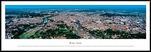 Rome, Italy Framed Skyline Picture 3