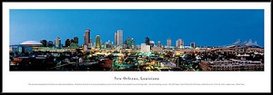 New Orleans, Louisiana Framed Skyline Picture 2