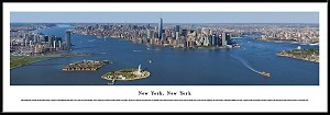 New York, New York Framed Black And White Skyline Picture 19