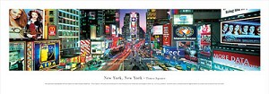 New York, New York Times Square Panoramic Picture