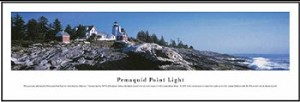 Pemaquid Point Lighthouse, Maine Skyline Picture