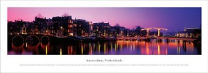 Amsterdam, Netherlands Panoramic Picture 2
