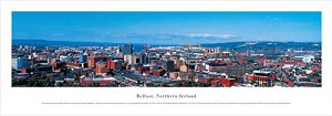Belfast, Northern Ireland Panoramic Picture