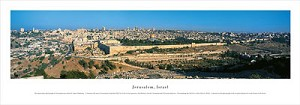 Jerusalem, Israel Panoramic Picture