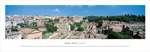 Rome, Italy Panoramic Picture 2