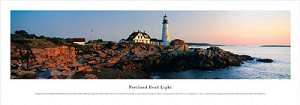 Portland Head Lighthouse, Oregon Panoramic Picture