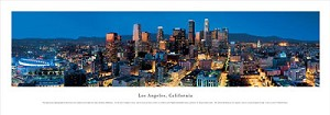Los Angeles, California Panoramic Picture 4