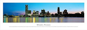 Milwaukee, Wisconsin Panoramic Picture