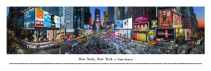 New York, New York Times Square Panoramic Picture 3