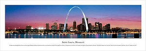 St. Louis, Missouri Panoramic Picture 3