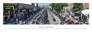 Sturgis, South Dakota Panoramic Picture