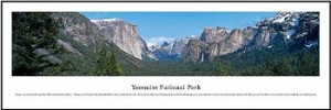 Yosemite National Park, California Skyline Picture
