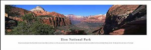 Zion National Park Skyline Picture 1