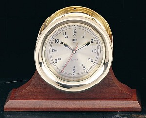 Solid Cherry Single Base Display Clock Holder (Base ONLY)
