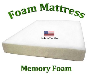 "Twin XL Foam Mattress 8"" Total Thickness"
