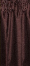 Brown Cafe Curtains